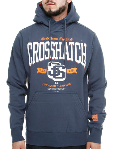 Crosshatch BLUE WAVE Hoody CH2E109678 Navy
