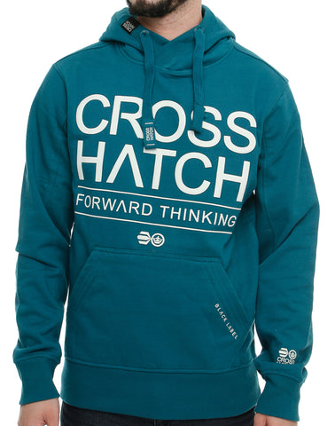 Crosshatch WILBUR Hoody CH2E109770 Turquoise