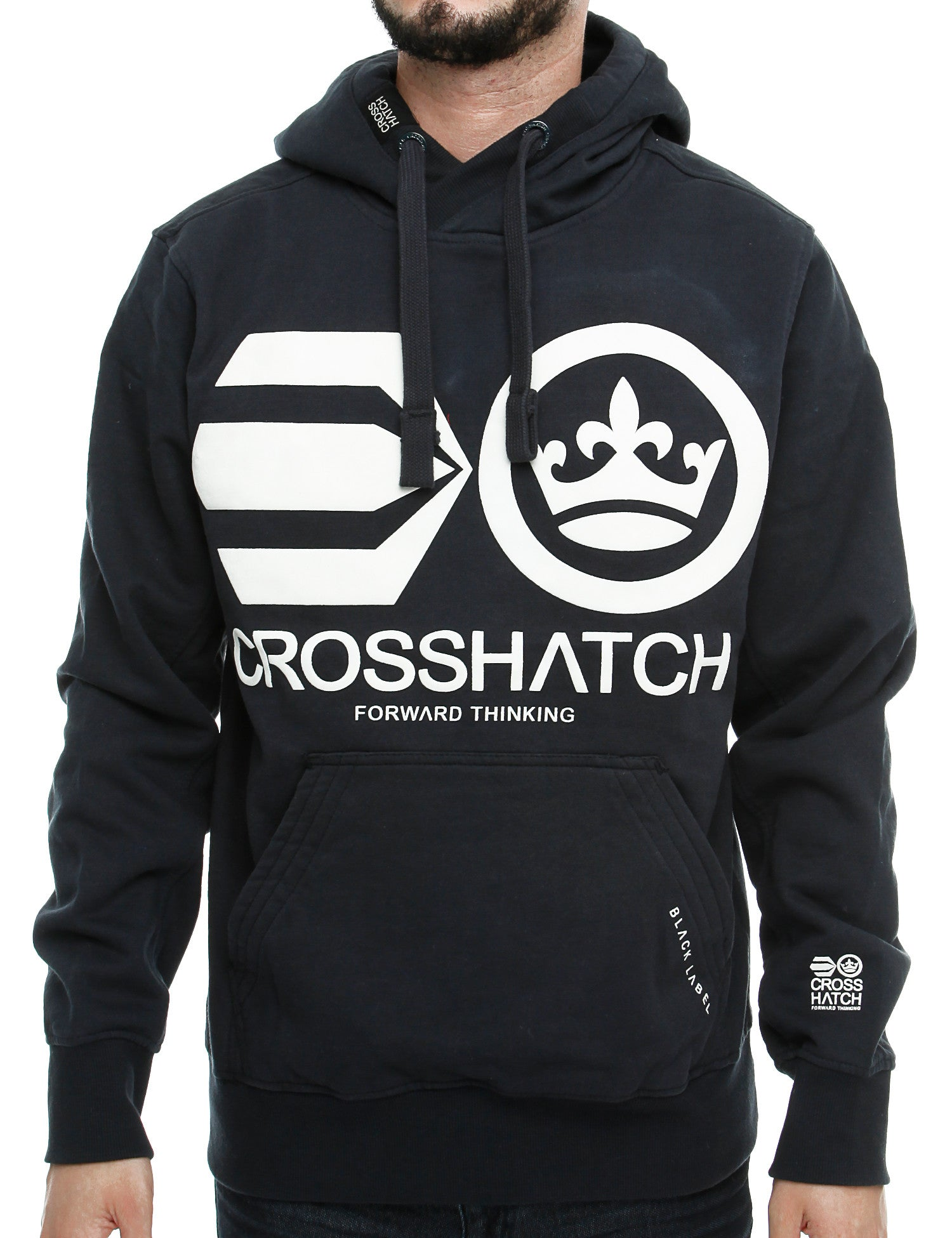 Crosshatch QUON Hoody CH2E109771 Navy