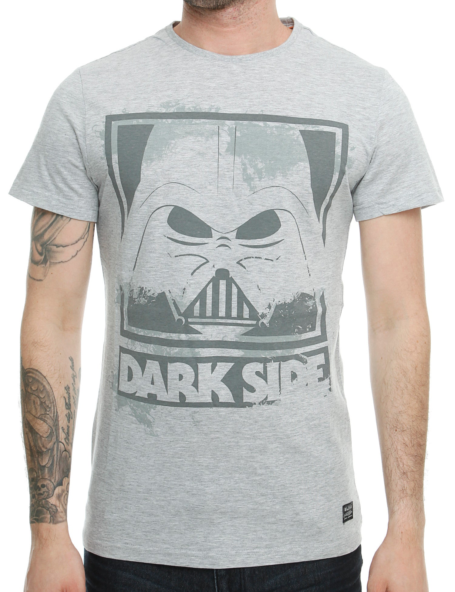 Blend T-Shirt 20701826 Stone Mix Grey