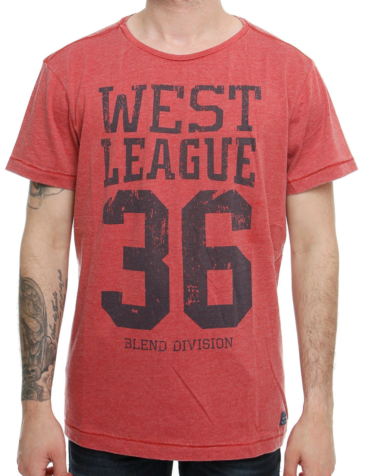 Blend T-Shirt 20701396 Red