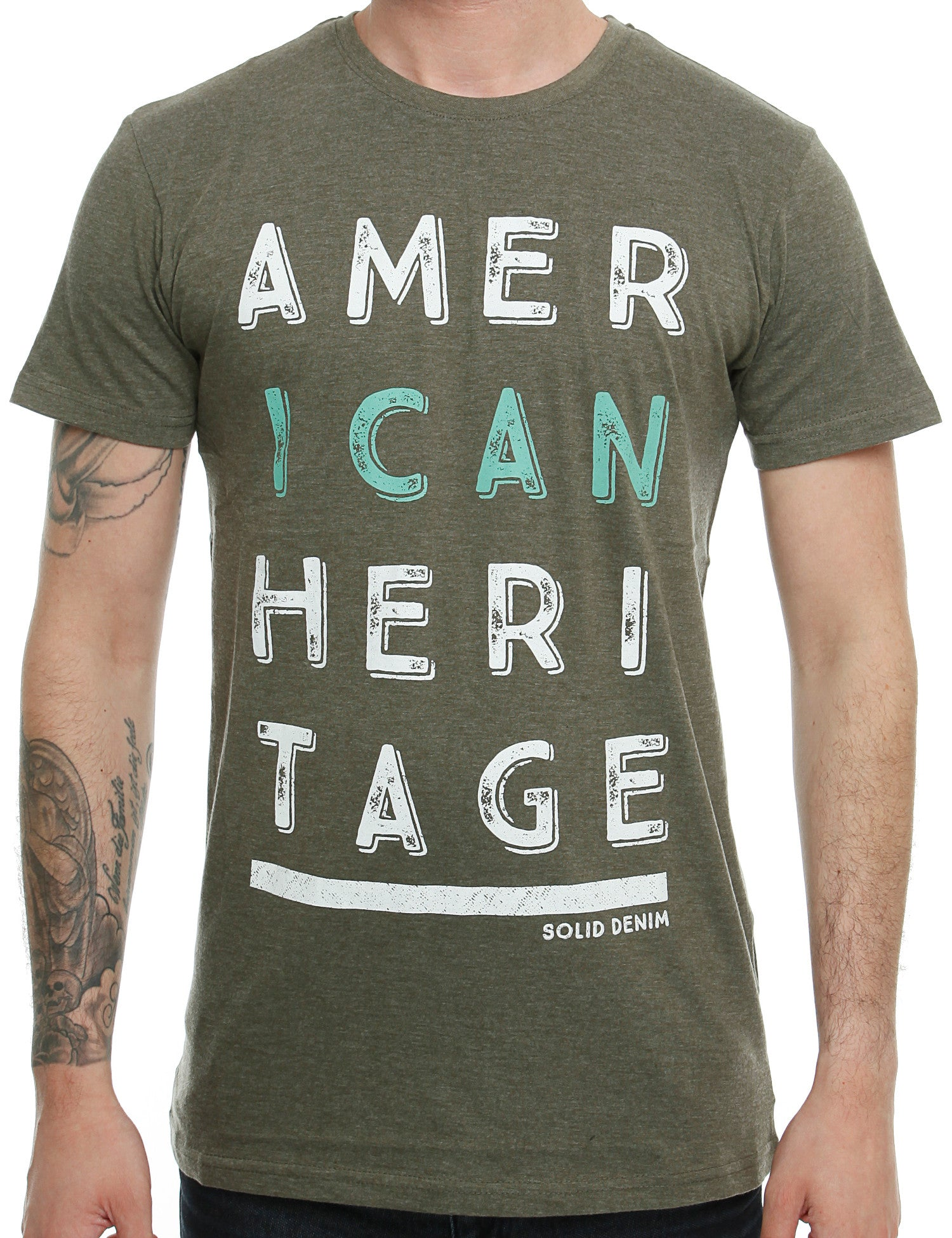 Solid Eliezer T-Shirt 6164723 Olive Green