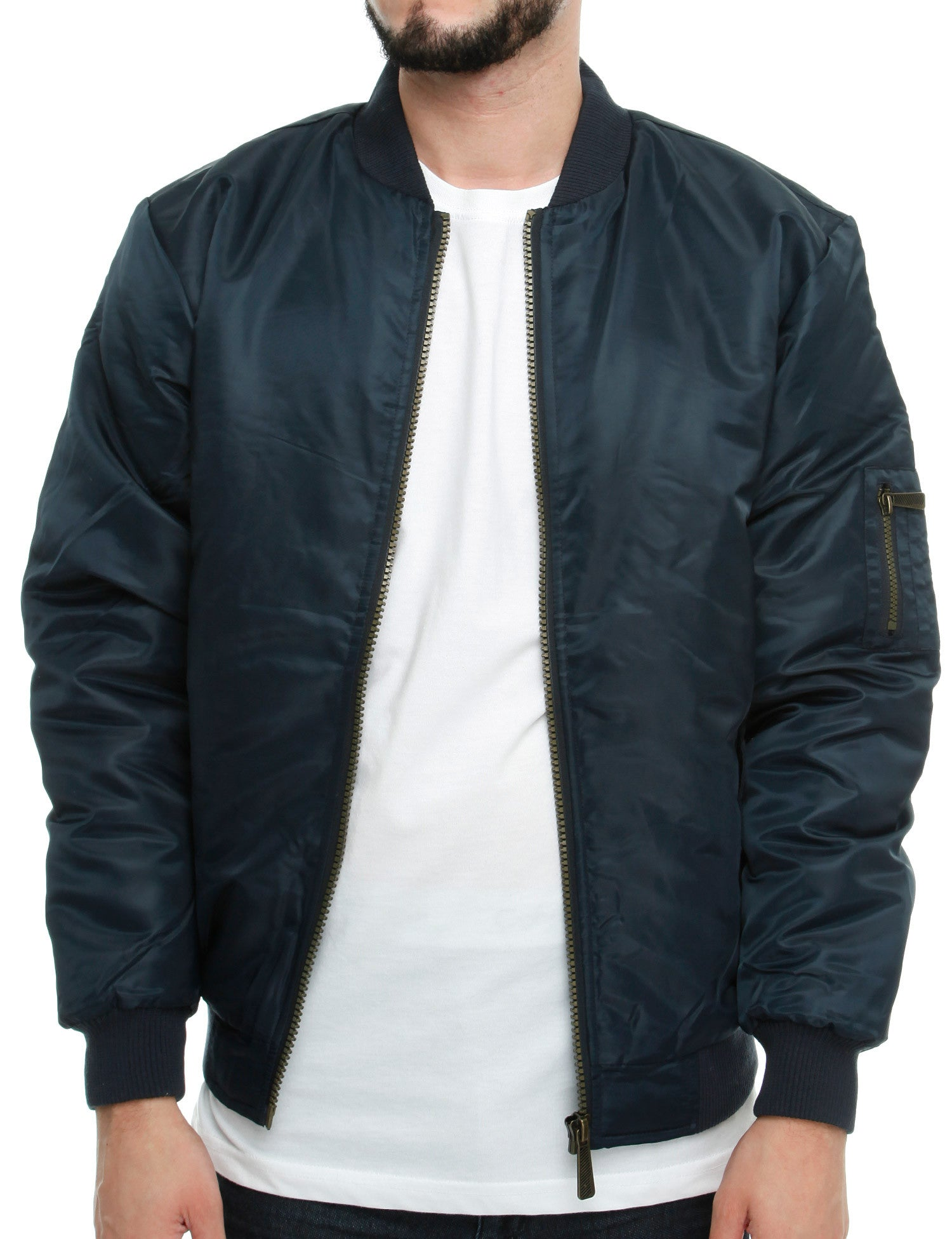 Soul Star MJ-MA1 Bomber Jacket Navy