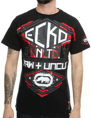 Image of Ecko MARIETTA T-Shirt Anthracite Black