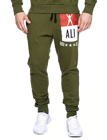 Ali Win Sweatpant 666 Olive Green