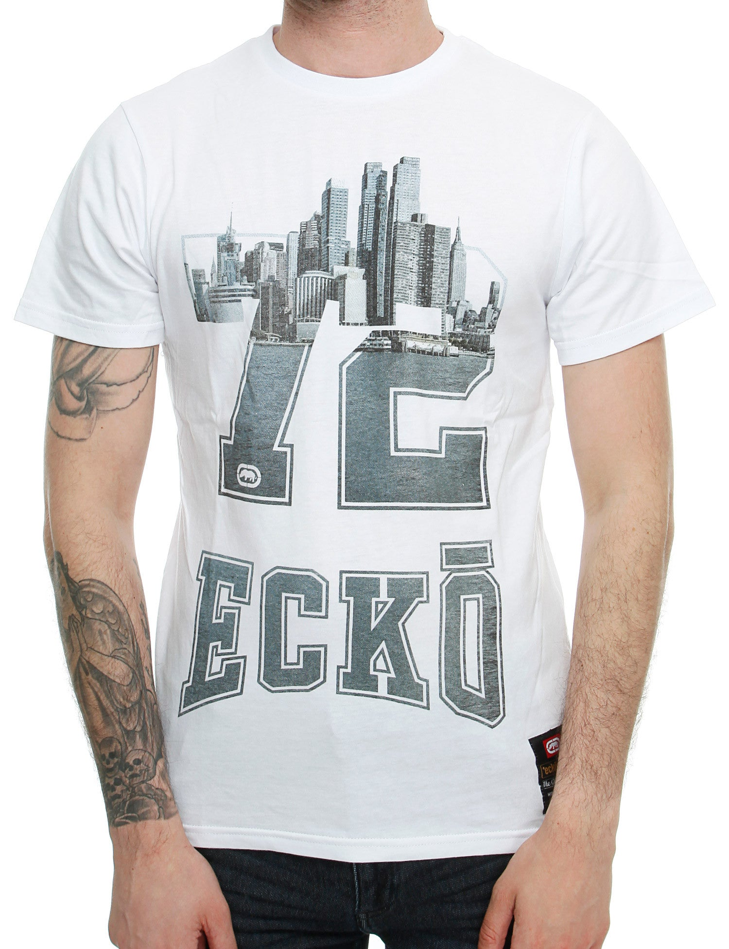 Image of Ecko MY NUMBER T-Shirt  White