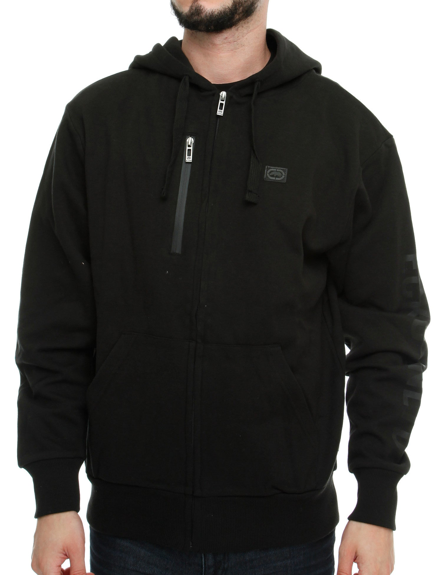 Image of Ecko Venus Zip Hoody E7N03551 Black