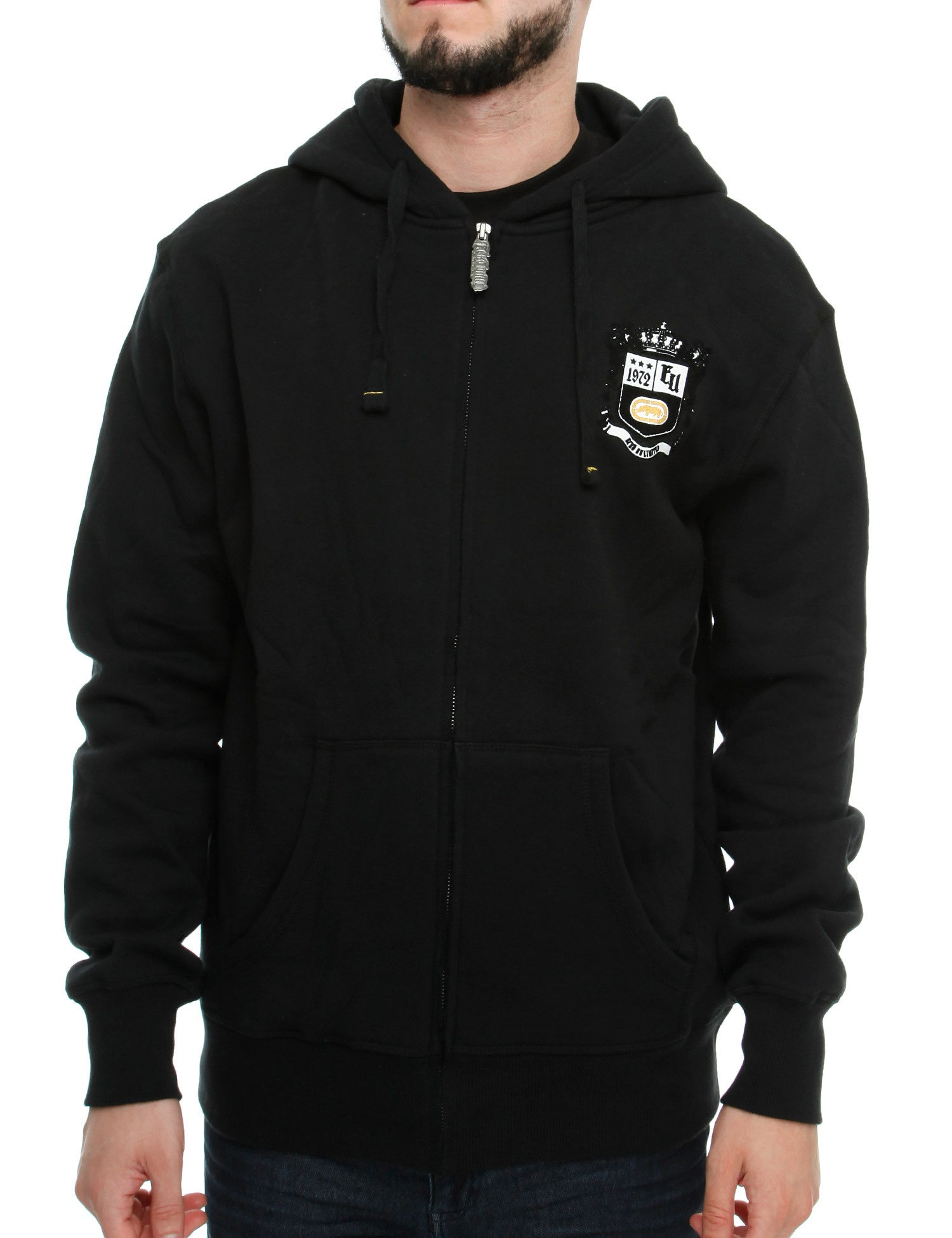 Image of Ecko Laguna Zip Hoody E7N03561 Black