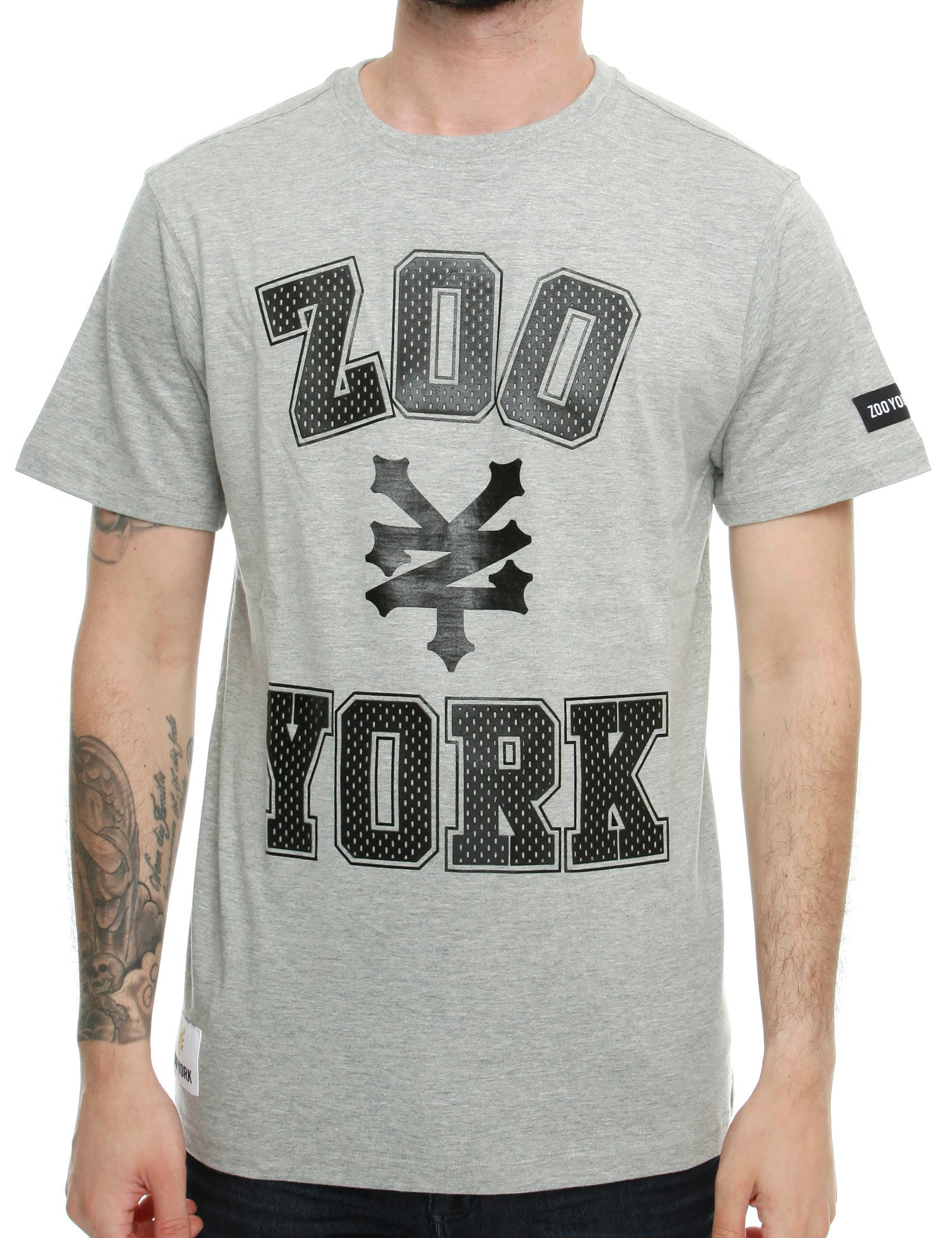 Zoo York Stone T-Shirt Z7N00073 Grey