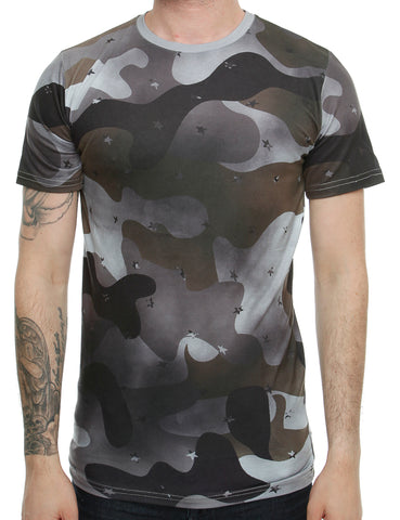 Cabin T-Shirt 708 Dark Grey Camo