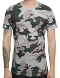 Cabin T-Shirt 711 Dark Green  Camo