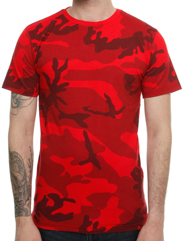 Cabin T-Shirt 709 Red  Red