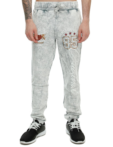 Cabin Sweatpant 657 Light Grey White