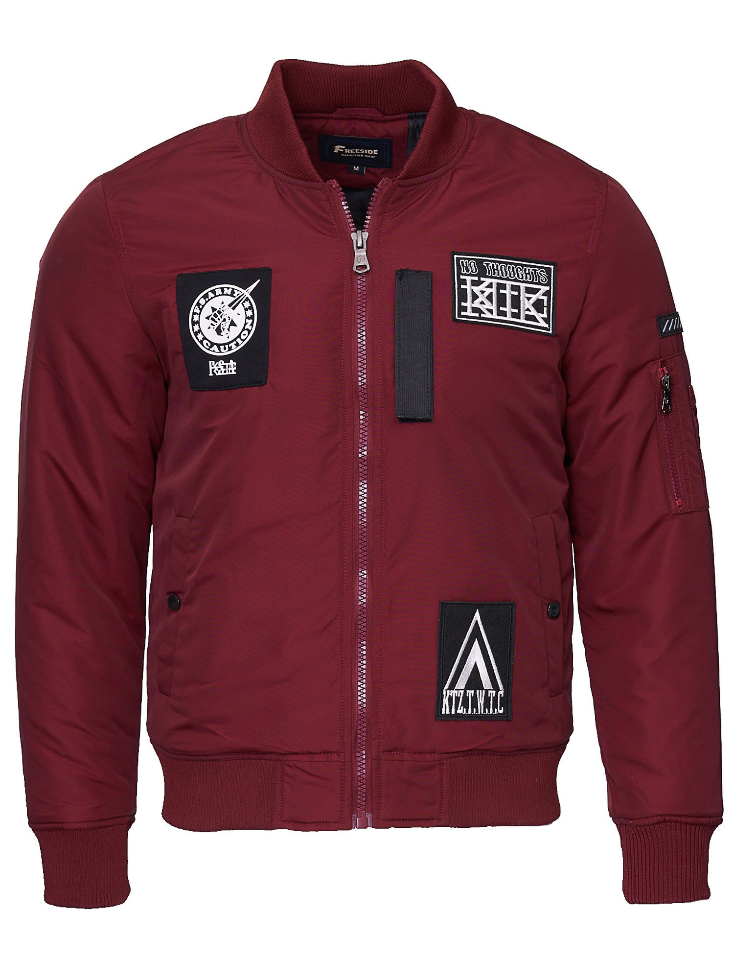 Free Side FS-1010 Bomber Jacket Red