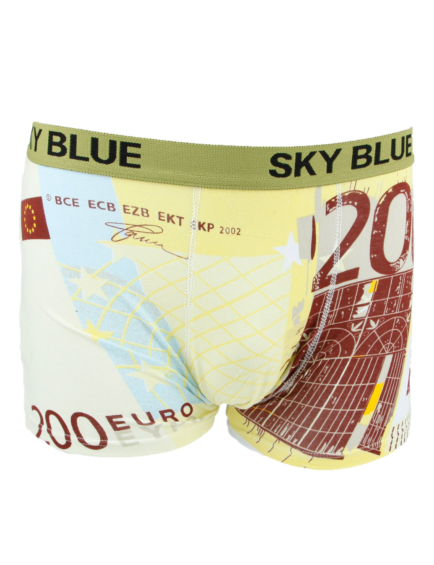 Sky Blue 200€ Boxers M-2085 Yellow