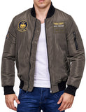 ET9 Pilot Bomber Jacket Z-6681 Army Brown
