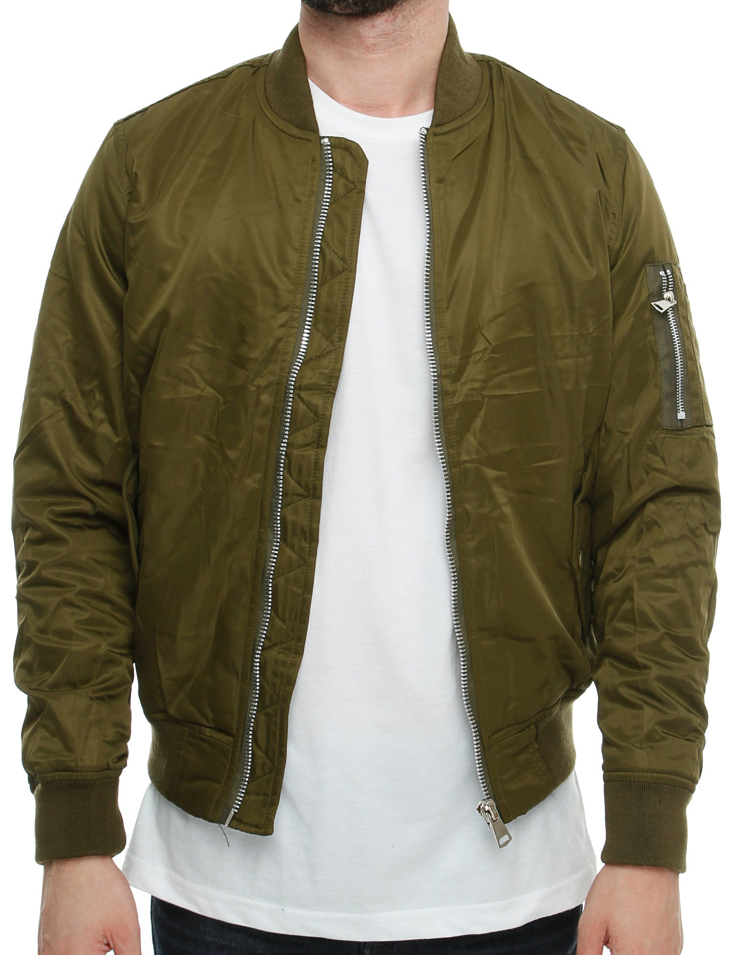 Bomber Jacket K-007 Olive Green