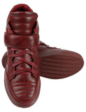 GOV Denim Shoes 008-1BO Burgundy Red