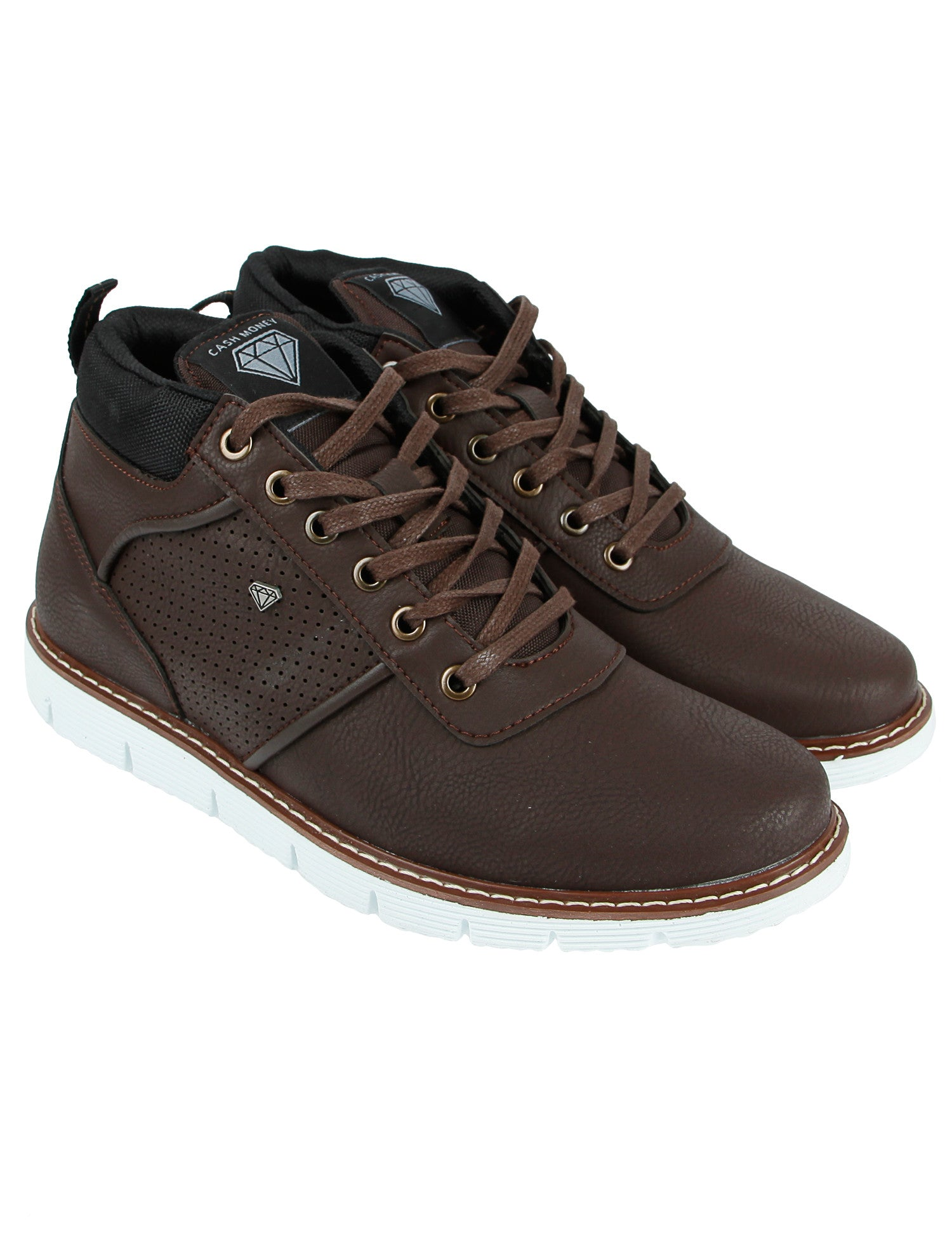 Cash Money Sneakers CMS69 Survival Choco Brown