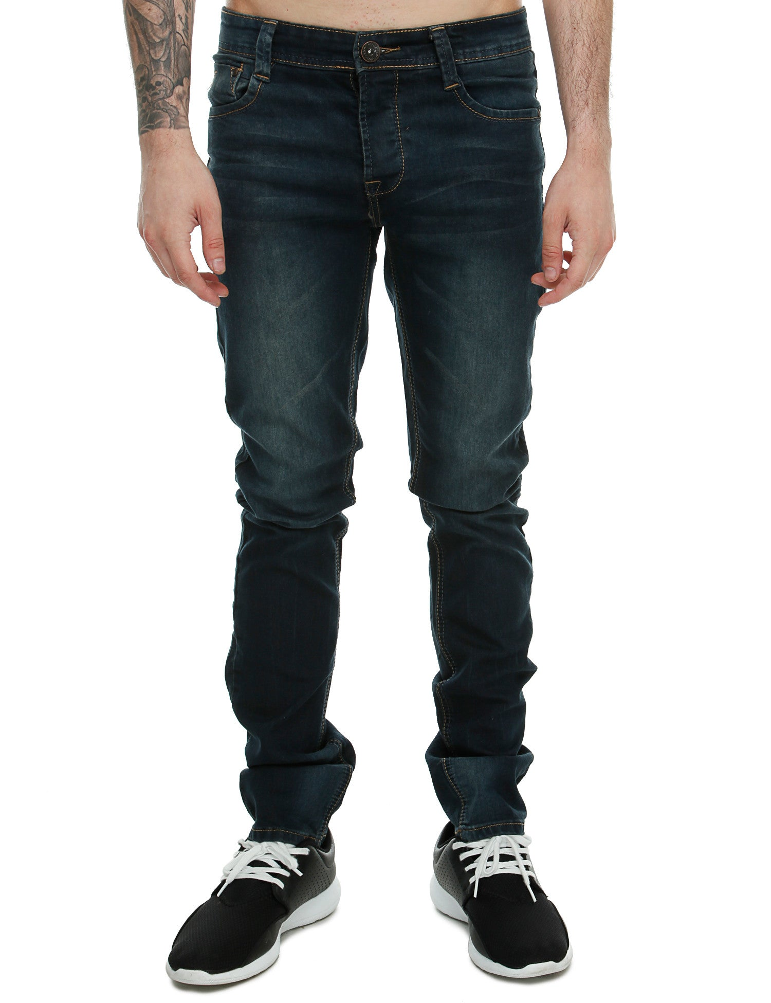 Rivaldi Slim Fit Jeans CRUZ Black  Blue