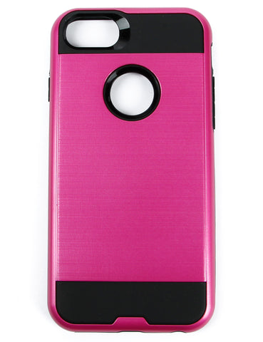 Metal Case for iPhone 6 & 7 HYB22-IPH7PKBK Pink