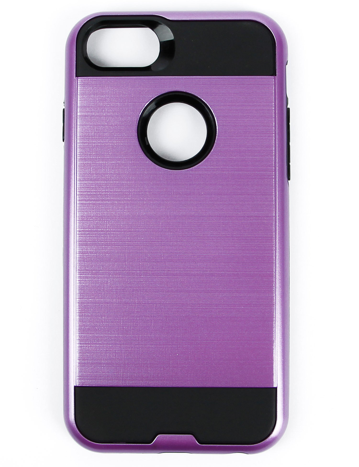 Image of Metal Case for iPhone 6 & 7 HYB22-IPH7PPBK Purple