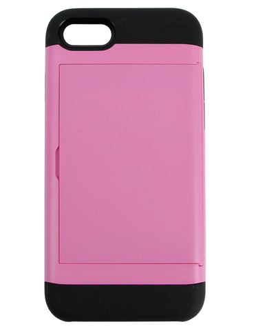Cardholder Case for iPhone 7 Pink
