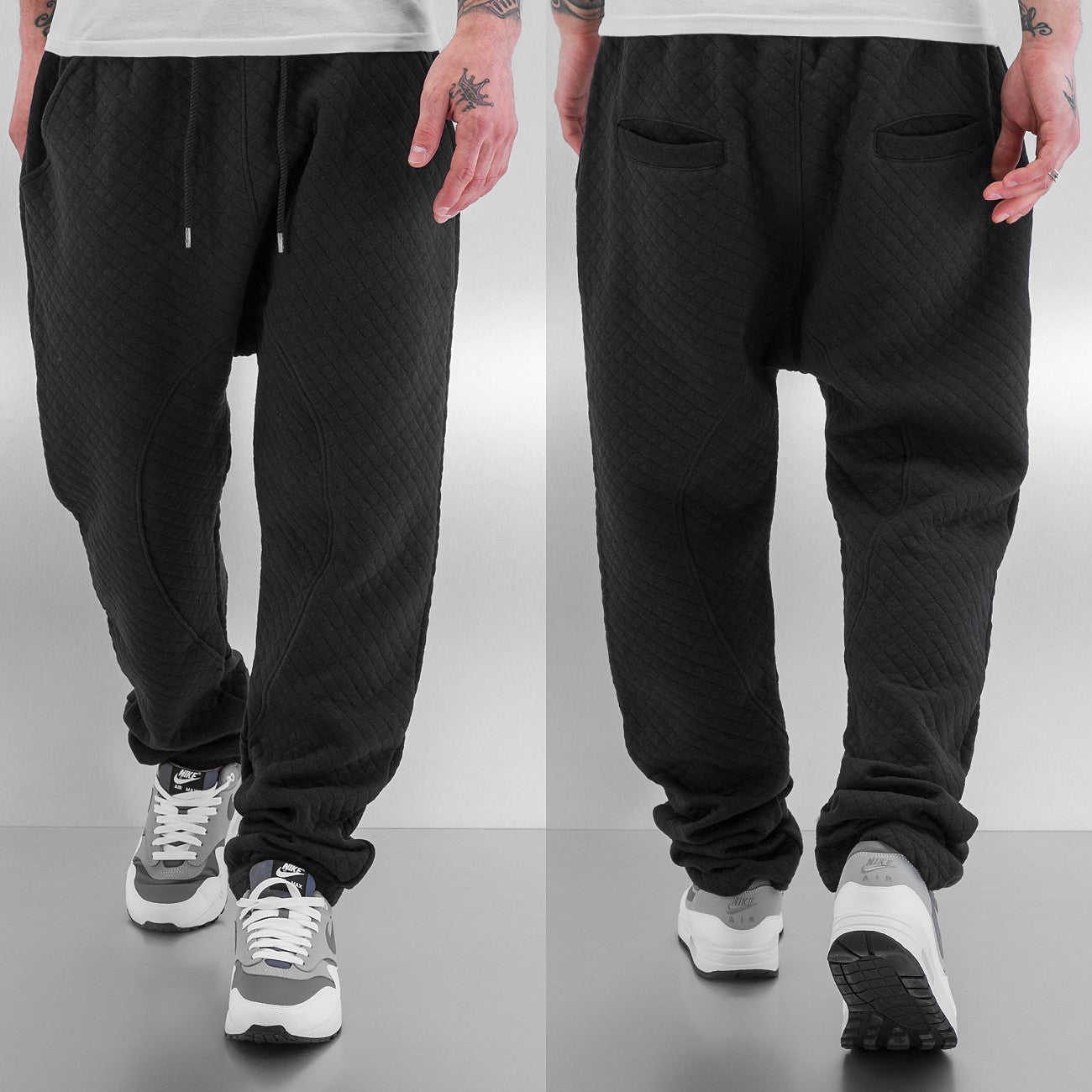 Just Rhyse Coolness Sweat Pants  Black