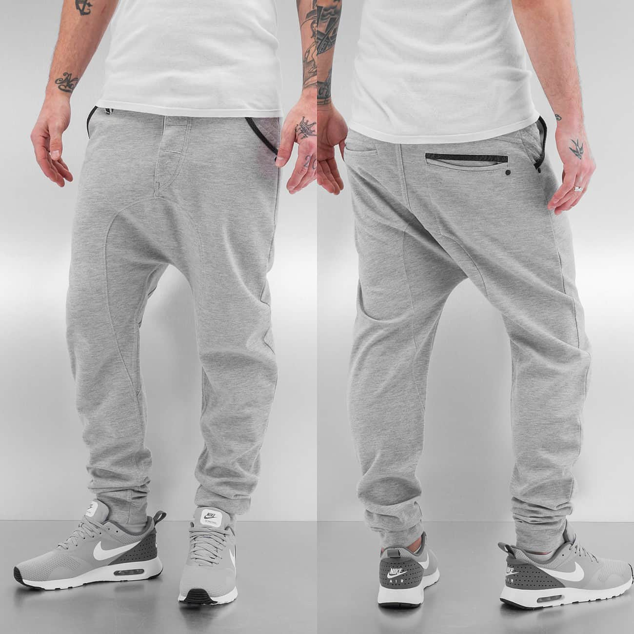 Just Rhyse Jeans Sweat Pants  Grey