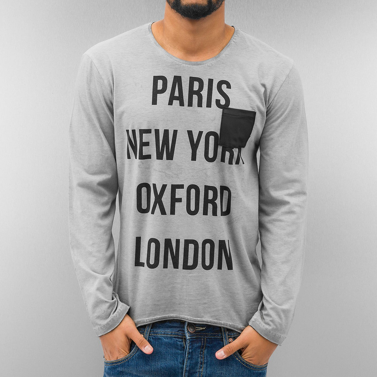Just Rhyse Paris Longsleeve  Grey