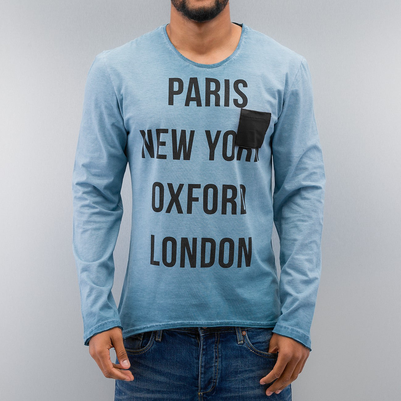 Just Rhyse Paris Longsleeve  Blue