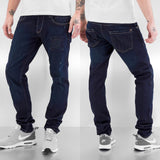 Bangastic Skull Straight Fit Jeans  Blue