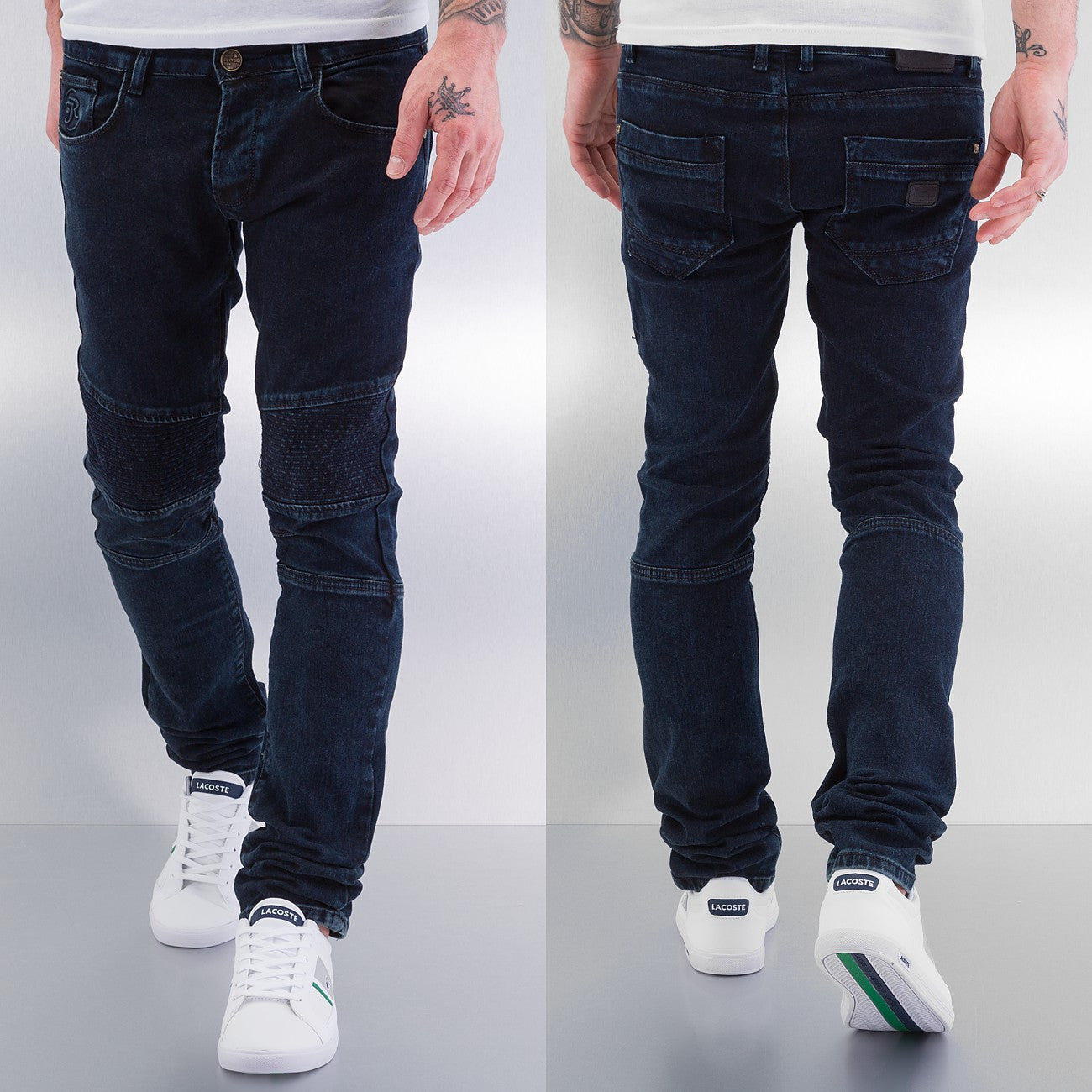 Just Rhyse Slim Fit Jeans  Black