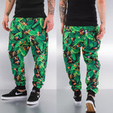 Just Rhyse Jungle Sweat Pants  Green