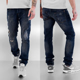 Bangastic Lightning Straight Fit Jeans  Blue