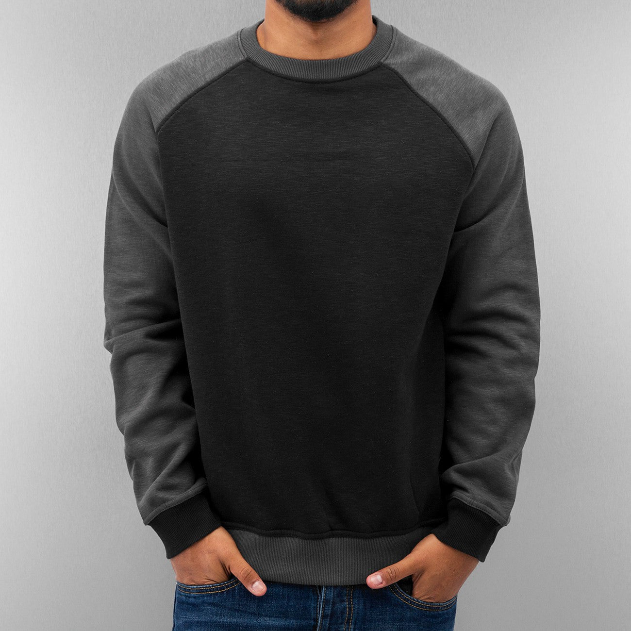 Just Rhyse Raglan II Sweatshirt  Black
