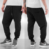 Just Rhyse Burnout Sweat Pants  Black