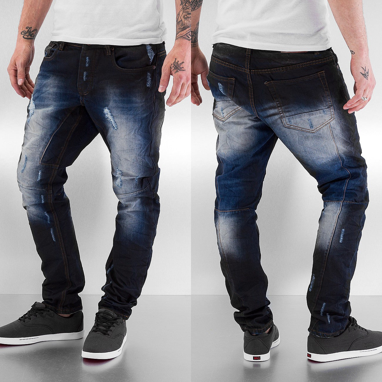 Just Rhyse Wag Antifit Jeans  Blue