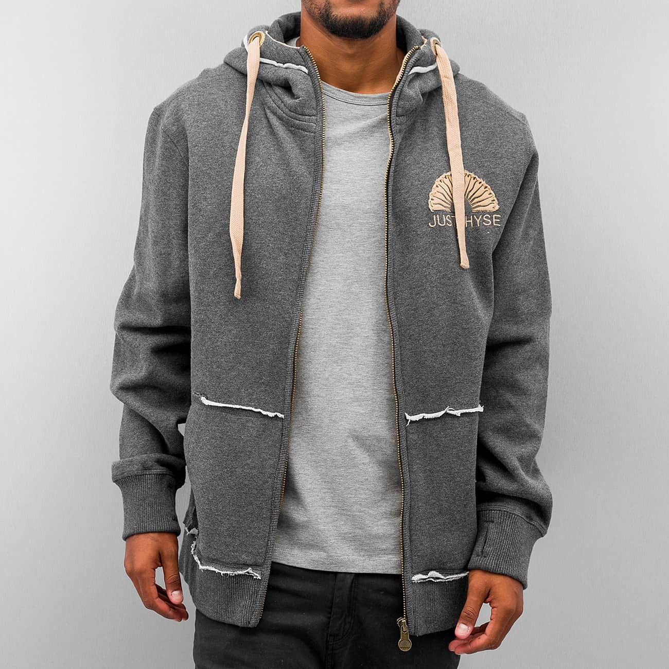 Just Rhyse Sun Zip Hoody  Grey