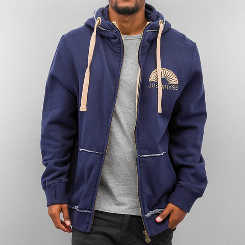 Just Rhyse Sun Zip Hoody  Blue