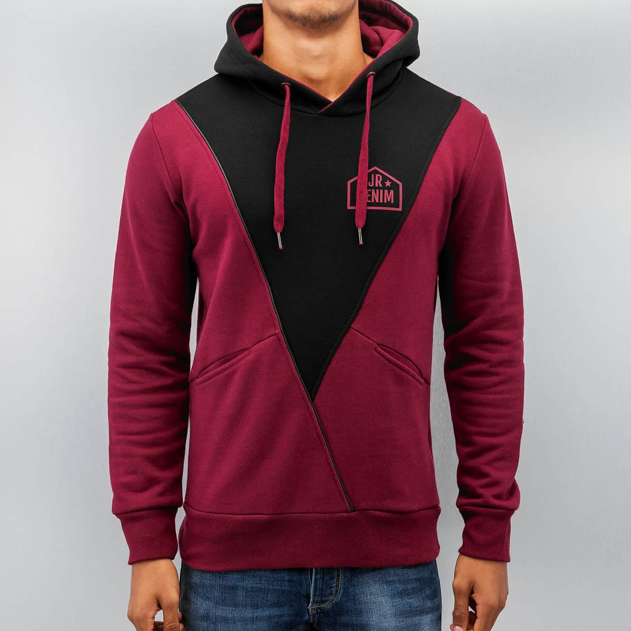 Just Rhyse Triangle Hoody  Red