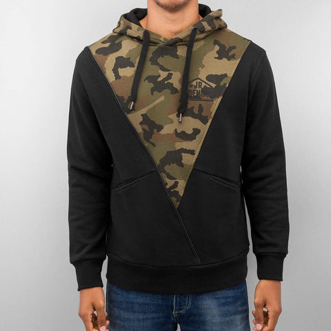 Just Rhyse Triangle Hoody  Black