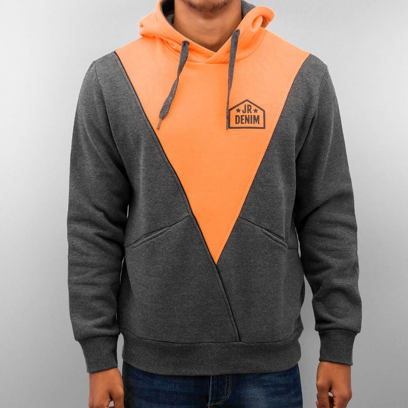Just Rhyse Triangle Hoody  Grey