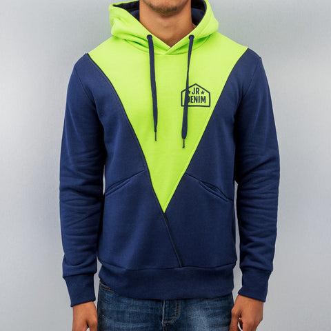 Just Rhyse Triangle Hoody  Blue