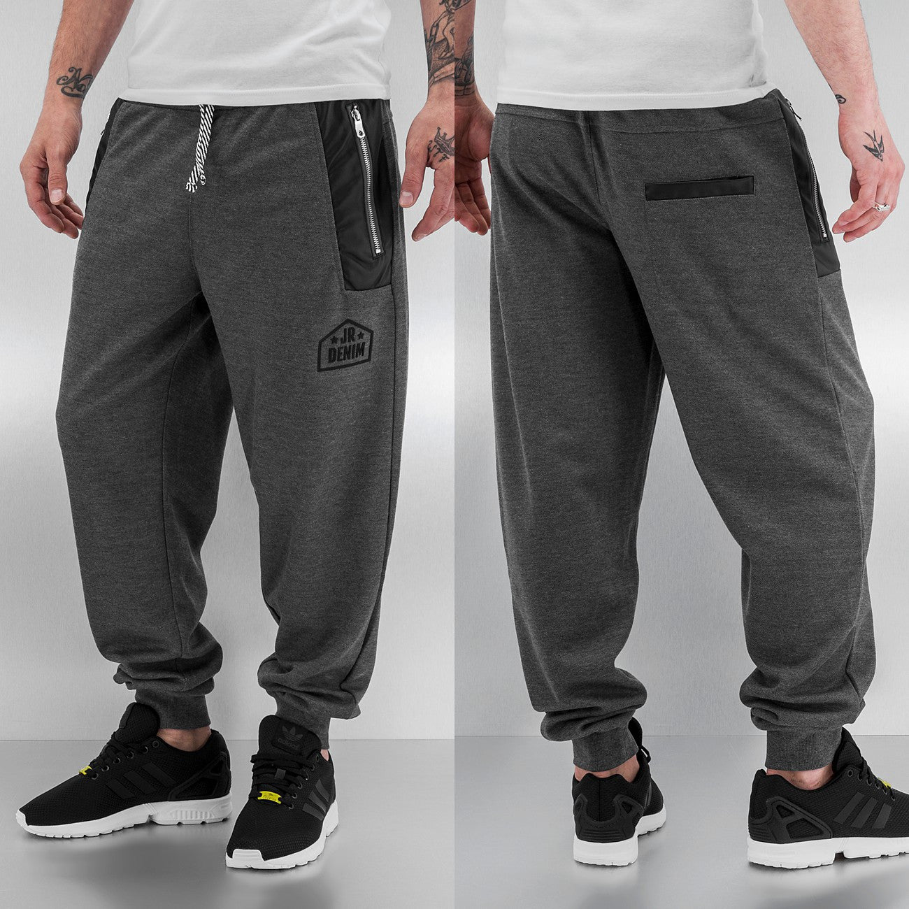 Just Rhyse Ray Sweat Pants  Grey