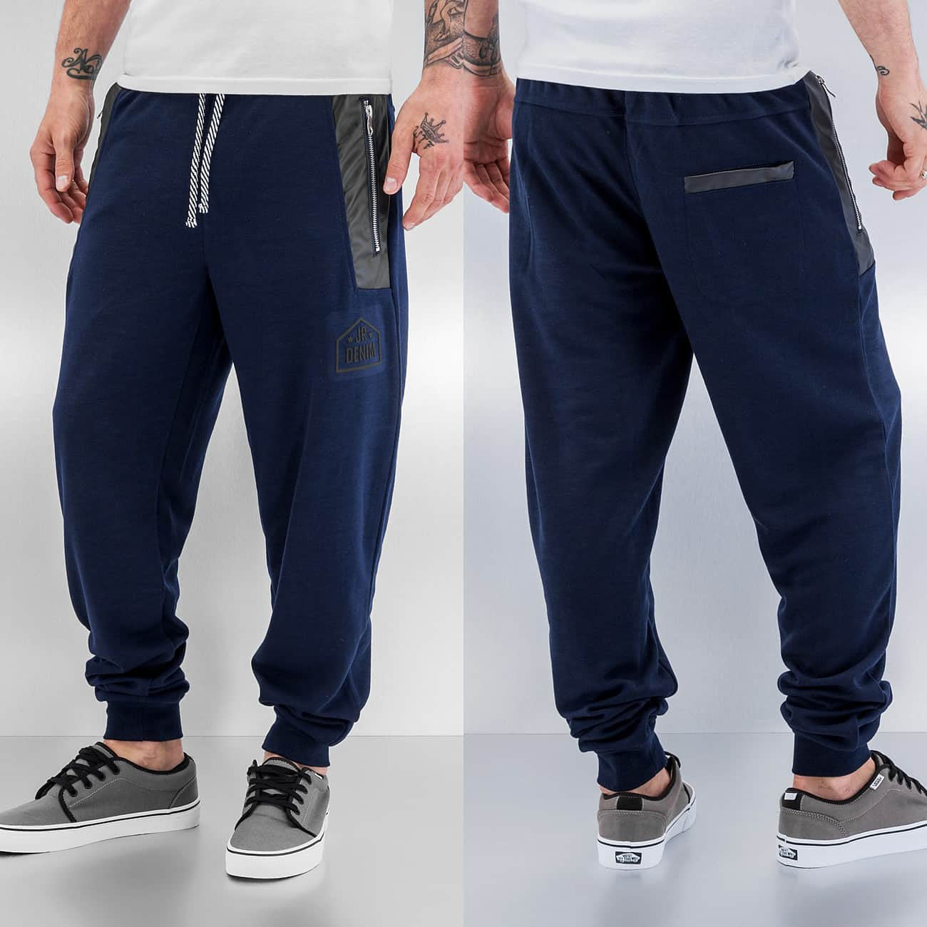 Just Rhyse Ray Sweat Pants  Blue