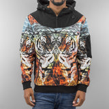 Just Rhyse Tiger Hoody  Black