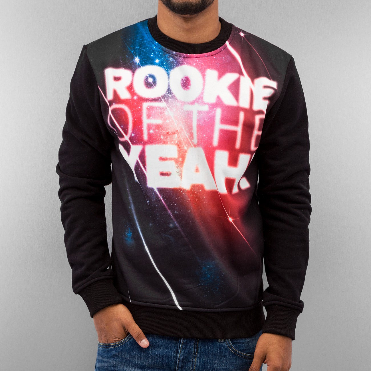 Just Rhyse Rookie Of The Yeah! Sweatshirt  Black