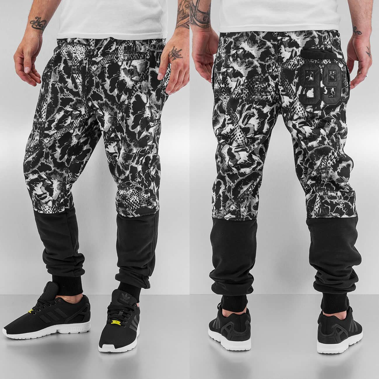Just Rhyse 99 Sweat Pants  Black