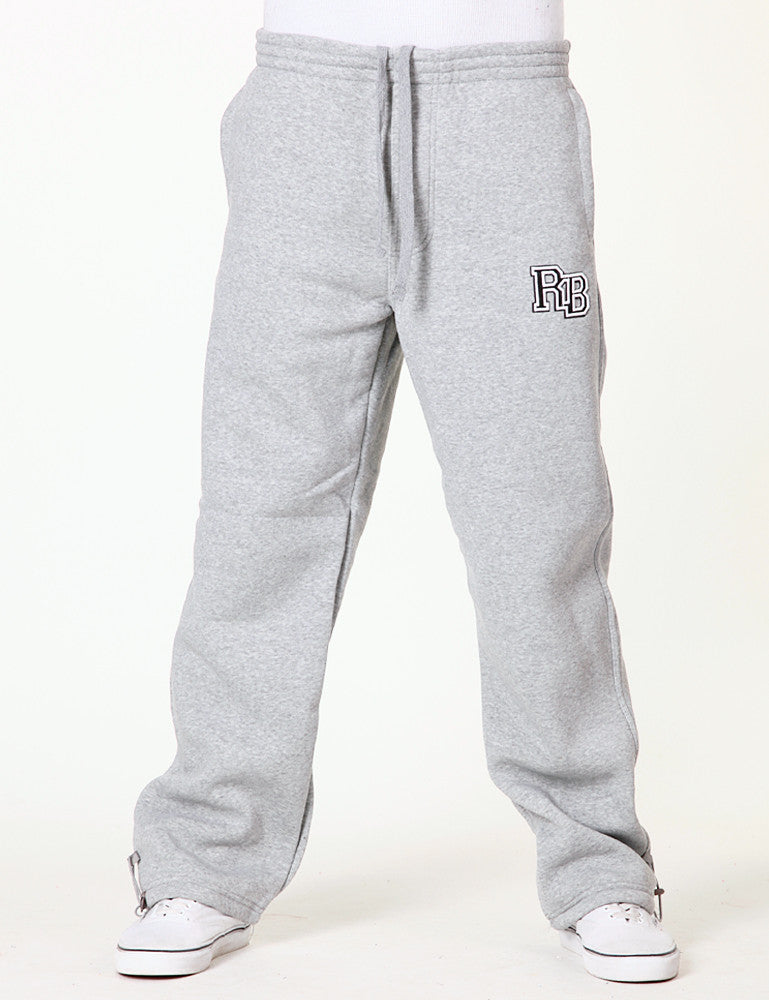 Block Letter Pants EF-3111 Grey